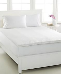 Dream Science 2'' Memory Foam Mattress Toppers, VentTech Ventilated Foam, by Martha Stewart Collection, Created for Macy's