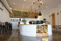 Vertex Wall Coverings by DuChâteau at Better Buzz Coffee