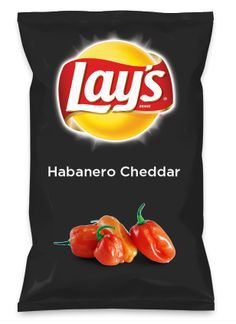 Wouldn't Habanero Cheddar be yummy as a chip? Lay's Do Us A Flavor is back, and the search is on for the yummiest flavor idea. Create a flavor, choose a chip and you could win $1 million! https://www.dousaflavor.com See Rules.