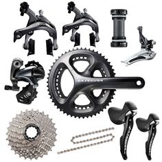 Shimano Ultegra 6800 11-Speed Groupset Chainset Option: 52-36T  #CyclingBargains #DealFinder #Bike #BikeBargains #Fitness Visit our web site to find the best Cycling Bargains from over 450,000 searchable products from all the top Stores, we are also on Facebook, Twitter & have an App on the Google Android, Apple & Amazon.