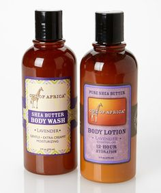 Another great find on #zulily! Lavender Body Wash & Lotion Set by Out of Africa #zulilyfinds