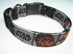 Charming Star Wars The Force Awakens Chewbacca Dog Collar Large #CarolsCharmingPuppyPalace