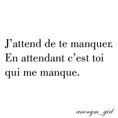 Meilleurs Citations D'amour : anonym_girl - Citations | Votre source numéro 1 pour les citations et proverbes Sad Quotes, Words Quotes, Love Quotes, Inspirational Quotes, Sayings, French Quotes, Bad Mood, Some Words, Sentences