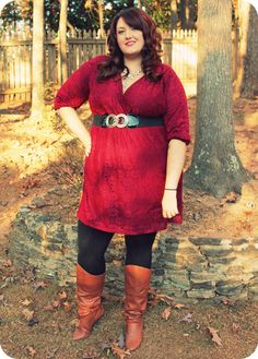The Fat Girl's Guide-love this outfit!