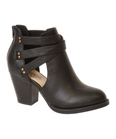 Look at this Ball Band Black Jane Bootie on #zulily today!