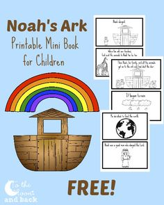Noah and the Ark for Kids. 17 Noah and the Ark for Kids. Noahs Ark Prek Pack Story Sequence Page 1 Preschool Bible Lessons, Bible Lessons For Kids, Bible Activities, Bible For Kids, Preschool Ideas, Sunday School Activities, Sunday School Lessons, Sunday School Crafts, Noahs Ark Craft