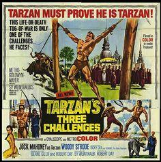Tarzan film posters