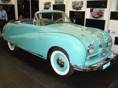Austin A90 Atlantic Cabriolet. 1949 - 1952. Der A90 war mit einem ...