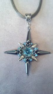 Chrysina Beads: North Star Pendant Tutorial