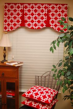 Custom Made Valance EMILEE Hidden Rod Pocket valance by BlackBeltHomeDecor