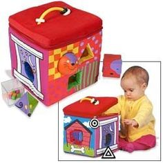 Small World Toys IQ Baby (Whose House Shape Sorter) « Game Searches