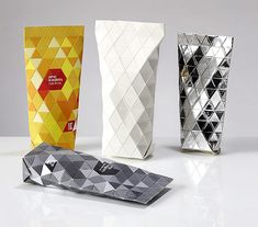 New, innovative and sustainable design for cosmetics packaging by Juho Johannes Kruskopf, Arttu Kuisma and Nikolo Kerimov, all students at Lahti Institute of Design in Finland. It's beautiful packaging with a high-end look that could have many purposes.