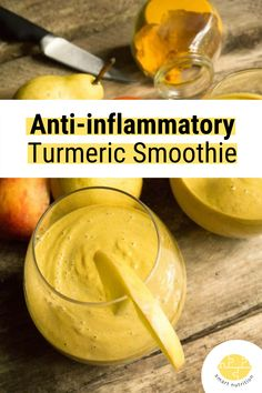 This smoothie is cool and refreshing, yet warm and spicy at the same time. Weird, but true, and oh-so delicious! | anti-inflammatory smoothie | healthy smoothie | turmeric drink | turmeric smoothie | healthy drink | spicy drink | healthy snack | healthy recipe idea | #turmeric #drink #smoothie #anti-inflammatory #delicious #healthy #healthyrecipe #breakfast #breakfastrecipe #healthybreakfast #recipe
