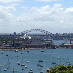 SydneyHarbour from Darling Point#sydneyharbourbridge #sydney# by pattipinkcake http://ift.tt/1NRMbNv
