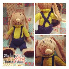 Matias Knitted bunny