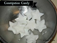 4 Sons 'R' Us: Constipation Candy--Do your little ones ever struggle with constipation? I know mine did, and occasionally still do, and it's painful for both of us when it happens. These little 'candies' are a perfect solution, offering a gentle push in the right direction for their digestive tracts.