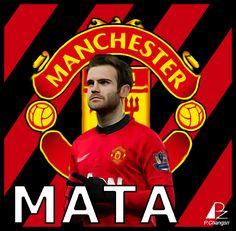 Juan Mata Manchester United #ManchesterUnited  #MUFC #8