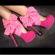 Pink Chiffon Heel Condoms