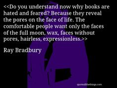 ray bradbury essays moon Ray douglas bradbury,  zen in the art of writing: essays on creativity (1991), a chrestomathy of  the moon's dandelion crater was named after bradbury's novel.