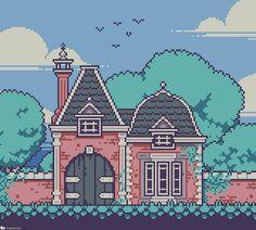 Cool Pixel Art, 3d Pixel, Minecraft Pixel Art, Minecraft Buildings, Planetary Symbols, Arte 8 Bits, Pixel Art Background, Pixel Art Templates, 8bit Art