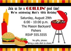BBQ Cookout Invitation - Free Printable from Lil' Sprout Greetings ...