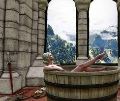 """Mi piace"": 1,043, commenti: 10 - Geralt of Rivia ™ (@geralt_off_rivia) su Instagram: ""Ciri deserves a break #thewitcher #witcher3 #witcher #wiedźmin3 #wiedźmin #ведьмак3 #ведьмак…"""