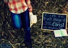 #CountryGirl #SeniorPicture #bible Senior Picture Ideas