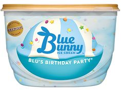 Ice Cream Flavors, Vanilla Ice Cream, Blue Bunny Ice Cream, Butterfly Snacks, Baby Swings And Bouncers, Ice Cream Freeze, Ben And Jerrys, New Flavour, Candy Shop