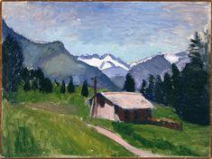 Henri Matisse - Savoy Alps 1901