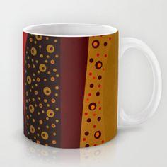 Red spring Mug by Viviana González - $15.00