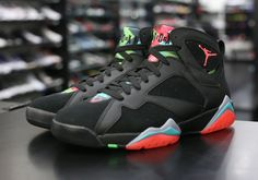 Marvin the Martian Jordan 7's make their return in just under two weeks. http://thesolesupplier.co.uk/upcoming-releases/air-jordan-vii-retro-marvin-martian/