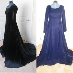 Costumes By Aly Like This Page · March 21 ·   Medieval gown available in velvet or twill, as well as, multiple colors..