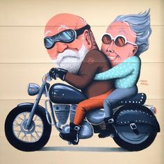 Private commision in a house with the best views ever Vermont 2015 🌳🌳🌳🌳… Satirical Illustrations, Cute Love Stories, Growing Old Together, Old Couples, Art Impressions, Funny Cards, Funny Cartoons, Watercolor Illustration, Cartoon Drawings