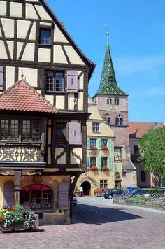 Alsatian Architecture, Turkheim, France