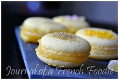 Thermomix macarons with Italian meringue