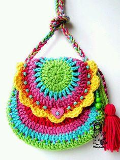 Arcoiris en crochet....