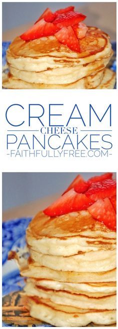 Cream Cheese Pancakes: Your New Favorite Recipe Cream Cheese Pancakes Recipe. Easy pancake recipe the whole family will love. Pancake recipes you can make with kids. Back to school breakfast ideas. Back To School Breakfast, Breakfast Desayunos, Breakfast Dishes, Breakfast Recipes, Breakfast Ideas, Avacado Breakfast, Fodmap Breakfast, Cream Cheese Pancakes, Cream Cheese Recipes