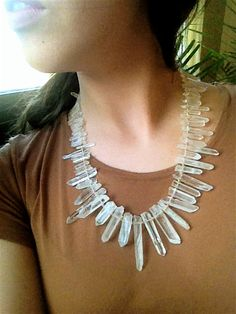 crystal necklace by ArchetypeCollective