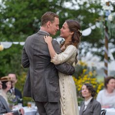 "Alicia Viklander and Michael Fassbender in ""The Light Between Oceans"" (2016)"
