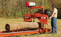 Woodmizer Lt15 Portable Sawmill Bandsaw - 18hp