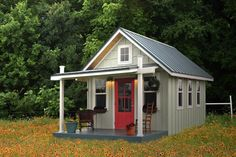 would love a shed like this for a 'mom's getaway'...sewing, crafting, etc