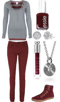 """i like the shirt :)"" by nikkiewa ❤ liked on Polyvore"