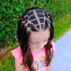 Cute Toddler Hairstyles, Girls School Hairstyles, Cute Little Girl Hairstyles, Cute Hairstyles For Kids, Baby Girl Hairstyles, Kids Braided Hairstyles, Girl Hair Dos, Crochets Braids, Hair Patterns