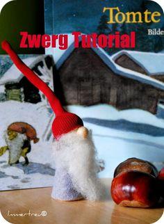 Wortwelten und Immertreu® : Free tutorial - Zwerg/Wichtel