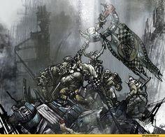 orks,warhammer 40000,фэндомы,Bad Moons