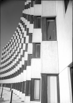 "Students' Dormitory ""Vindobona"" (1969) in Vienna, Austria, by Georg Lippert"