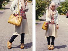 Malaysian hijabi fashion blog