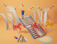 다음 @Behance 프로젝트 확인: \u201cDot Baires Shopping Stairs\u201d https://www.behance.net/gallery/11573545/Dot-Baires-Shopping-Stairs