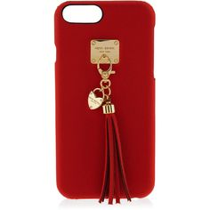 Henri Bendel West 57th Tassle Case For Iphone 6/6s ($58) ❤ liked on Polyvore featuring accessories, tech accessories, red and henri bendel