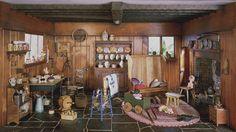 doll house collection ingeborg reisser (paris) - Country kitchen